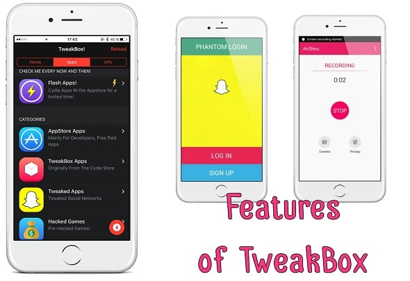 TweakBox App Features