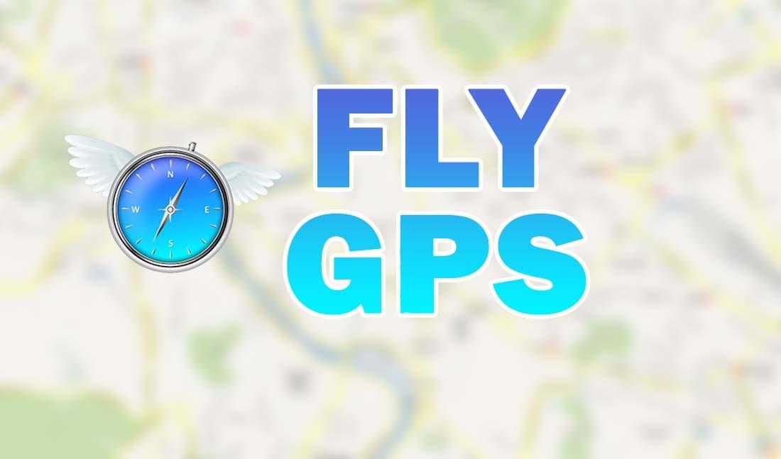Fly GPS fake location