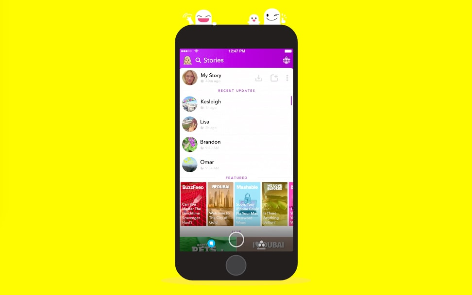 Snapchat APK Download with Official Latest Android Version - Browsys