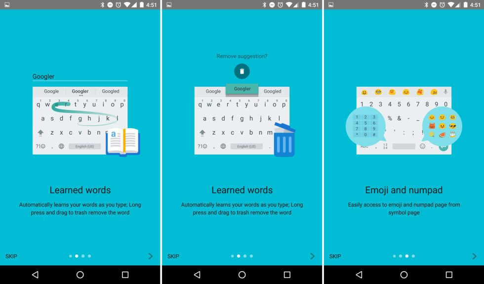 Google Keyboard android